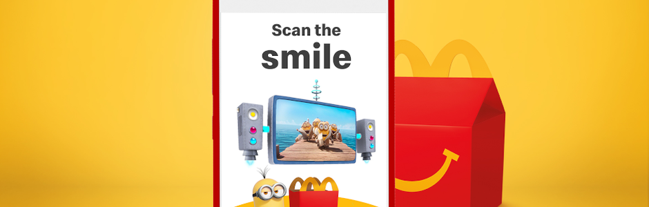'Scan the Smile' and Unleash Your Inner Minion with McDonald's