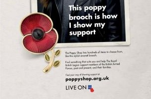 Geometry Global UK Shows Support with The Royal British Legion's Poppy Shop
