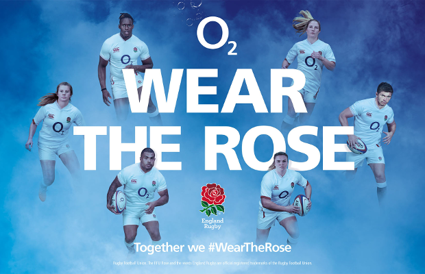 England Men's and Women's Rugby Teams Ask Fans to 'Wear the Rose' for  O2 Six Nations Ad