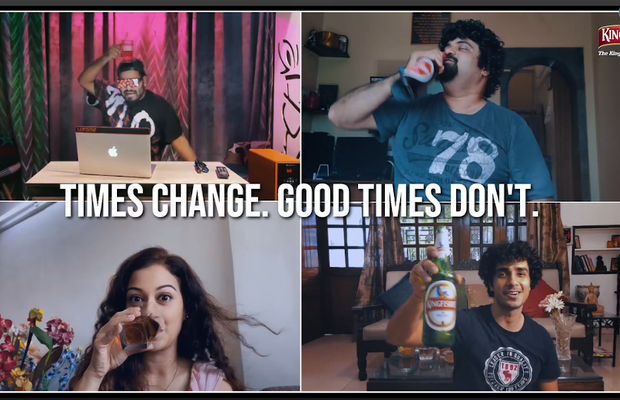 When the World is Divided by Screens, Kingfisher Beer Brings People Together