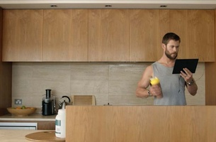 Chris Hemsworth Stars in Latest Foxtel 'Make It Yours' Campaign via Whybin\TBWA, Sydney
