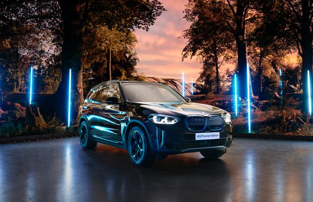 FCB Inferno's Futuristic Set Showcases BMW iX3 Premier Edition