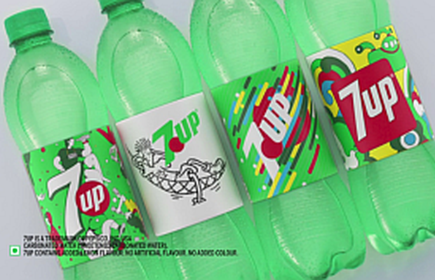 7UP's New Packaging by BBDO India Celebrates Brand's Unique Heritage