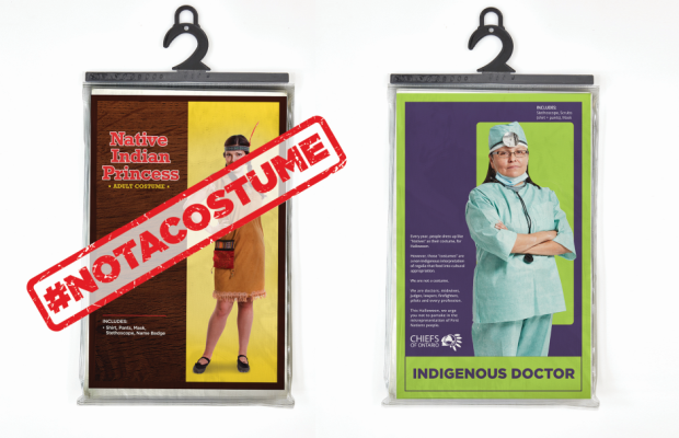 Advocacy Campaign Demonstrates What's #NotACostume This Halloween