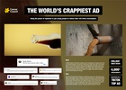 The World's Crappiest Ad Presentation Board