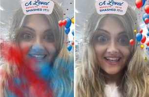 Nationwide Takes Over Snapchat to Celebrate this Year's A-level Results