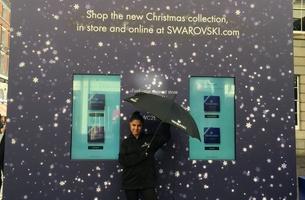 Swarovski Spreads the Sparkle This Christmas in Partnership with Havas Media's Adcity