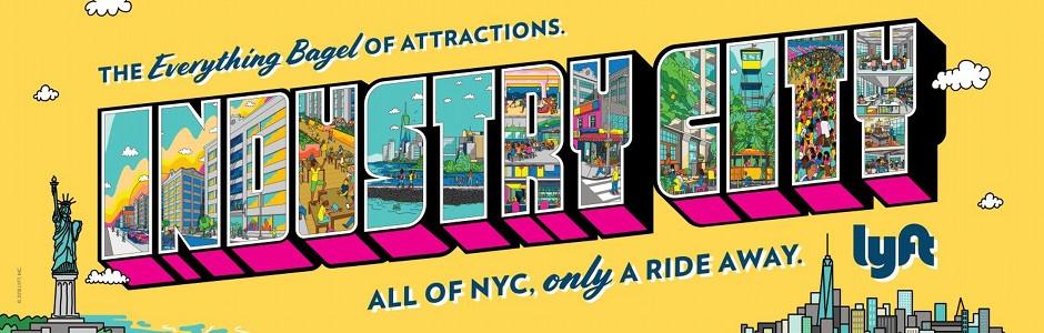Lyft's Celebratory Street Art Campaign Supports New York 'Staycations'