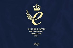 AKQA Wins The Queen's Award for Enterprise Innovation