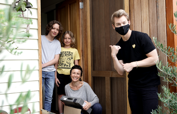 Amazon Aus and Joel Creasey Surprise Five Resilient Recipients for Random Acts of Kindness Day