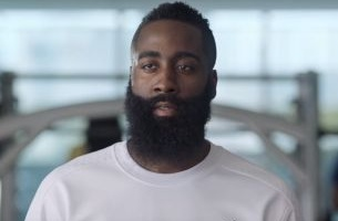 What is Colin Farrell Doing as James Harden's Inner Voice?