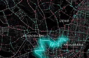 TBWA\HAKUHODO Uses Traffic Data to Create a Non-Stop Marathon Through Tokyo