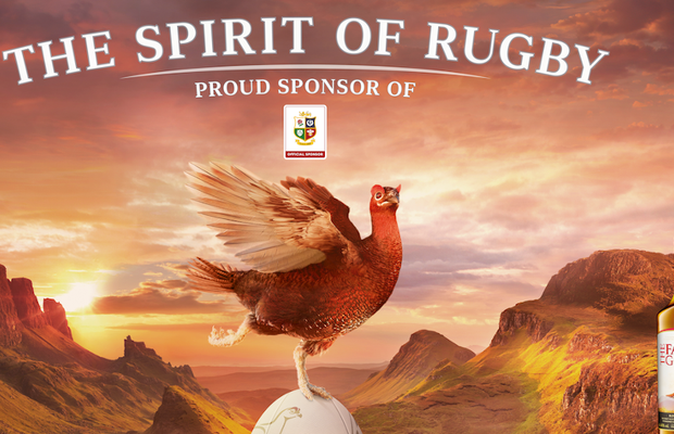The Famous Grouse Kicks off Second Instalment of 'The Spirit of Rugby' Campaign