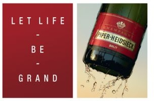 La Chose Group Wins Piper-Heidsieck Champagne Account