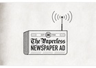 """DB Export Releases The """"Paperless Newspaper Ad"""""""