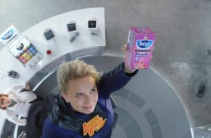 Tetley's Awesome Woman Drops In for Latest Campaign from Creature of London