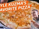 Eater's Latest Campaign Reveals Los Angeles Lakers' Kyle Kuzma Loves Lobster Pizza