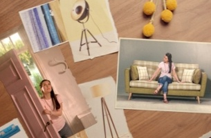 Mood Board Springs to Life in New DFS Campaign from Krow