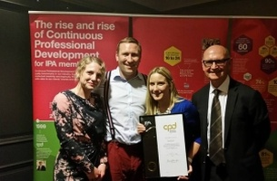 Southpaw Wins IPA CPD Gold Award
