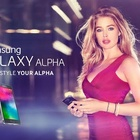 Top Model Doutzen Kroes Hits the Town for New Samsung Alpha Campaign