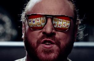 Matt Carter Shoots Keith Lemon for Sky Vegas Celebrity Juice Sponsorship Idents