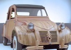 2CV Made Entirely of Wood Gets Immortalised in the Citroën's Digital Museum