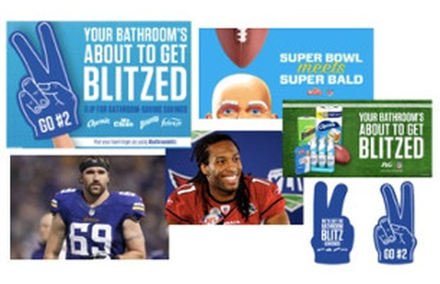 P&G and Amazon Team Up for Super Bowl to Help People 'Go #2' without a Hitch