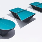 This Specially Designed Ping Pong Table Highlights the Challenges Faced by Para-Athletes