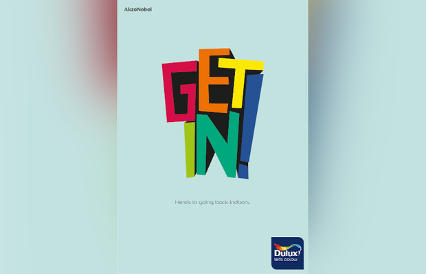 Dulux's Colourful Print Campaign Opens the Door to Indoors