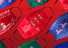 Mark's Turns Ugly Christmas Sweaters into Ugly Christmas Masks