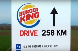 McDonald's France Highlights Customer Proximity with Hilarious Billboard