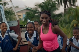 UNIT Delivers VFX on Inspiring New BP Film Starring Sprinter Nyoshia Cain