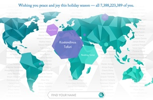 Mullen Lowe Group US Creates a Holiday Card for Mankind
