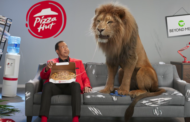 FABLEfx Makes Nature's Most Notorious Carnivore a Meat Free Believer for Pizza Hut