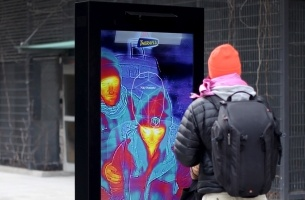 Heating up Pharma: Creating the First Outdoor Ad That Detects Your Fever