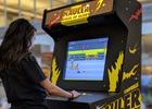 john st. Goes Retro with Arcade Cabinet and Video Game for No Frills
