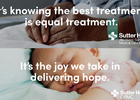 Sutter Health Reinforces Its Patient Understanding with Covid-19 Era Campaign