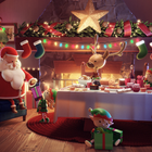 How Feed Me Light Brought Santa's House to Life for Dobbies