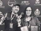 Miguel Ortega Wins Four Honours at Filmquest Film Festival