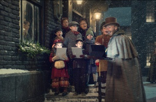 A Victorian Christmas Collides with Digital Tech in Currys PC World's Festive Film