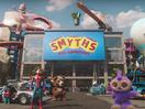 Oscar Meets Baby Yoda on LEGO Ride Through Toy Town for Smyths' Christmas Spot