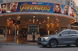 Infiniti Launches QX50 with Marvel Studios Collaboration