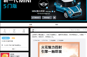 MINI and Etcom Launch Australian Weibo First