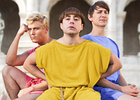 Manners McDade's Oli Julian scores Season 4 of ITV series 'Plebs'