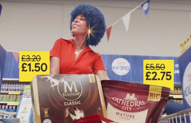 Tesco 'Takes Us Back' with Nostalgic Campaign to Mark 100th