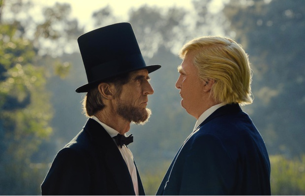 Satirical PSA Imagines Honest Conversations between Abraham Lincoln and Donald Trump