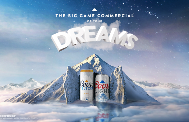 Coors Light and Coors Seltzer Share the First Big Game Ad That Runs in Your Dreams