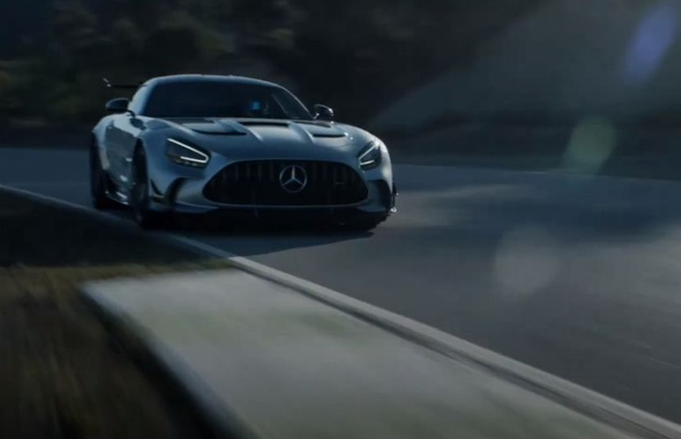 No Matter How Hard You Try, You Can't Stop Time in Michelin x Mercedes Ad