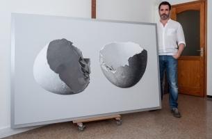 Artist Rómulo Celdrán's 'Zoom' Series Starts New Season at Gallery in Turin