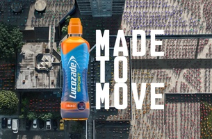 CherryCherry London is 'Made to Move' in Latest Lucozade Spot